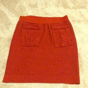 Moth Anthropologie wool pencil skirt with pockets